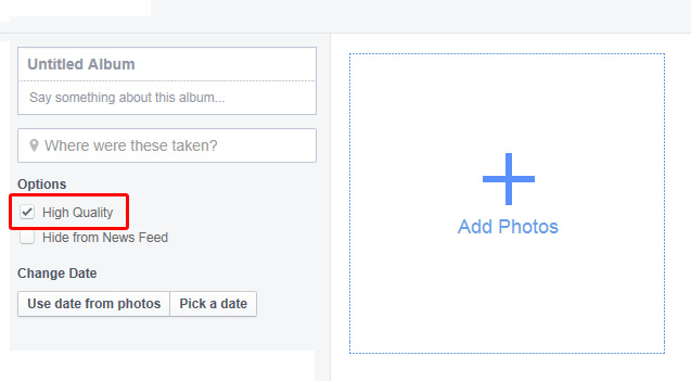 Facebook Tips - Upload HQ 2